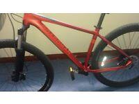 "Boardman Mountain Bike Team 29er 18"" Frame"