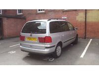 SEAT ALHAMBRA 1.9TDi CHEAP 7 SEATER built in children and toddler car boosters