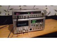 FERUSON Amp+Casette Player