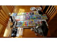 Nintendo Wii sport. BLACK. With games and many accessories!