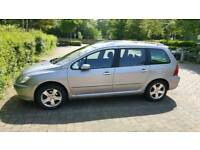 Peugeot 307 SW 1.6 HDI 110cp, 7 seats