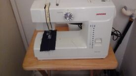Janome sewing machine (6 years old) hardly used
