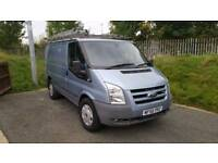 Ford Transit GLX 110 With Roof Rack.