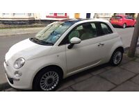 FIAT 500 LOUNGE 1.2 FOR SALE 1 FEMALE OWNER