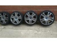 "Ford focus kuga Mondeo 5 stud 18""alloy wheels"