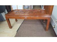 Chinese coffee table, coffee table, Chinese handcraft coffee table