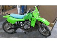 Kawasaki KX 60 Motorcross bike yz RM cr off road