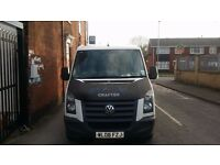 Low mileage swb vw crafter. Used Light domestic van.