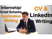 INTERNSHIP, PLACEMENT, GRADUATE APPLICATION WRITING – BANKING, MARKETING, IT, ENGINEERING, FINANCE