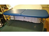 BLUE MASSAGE TABLE (BRAND NEW)