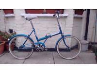 Vintage truimph folding bike for sale