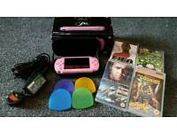 Sony PlayStation PSP pink