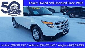 2013 Ford Explorer XLT 4WD | One Owner | Leather