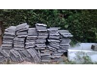 Quantity of roof tiles.