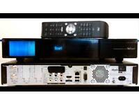 Vu+ duo 2 sky box 2tb harddrive