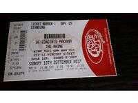 the maine concert ticket