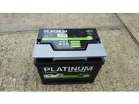 Caravan Platinum leisure battery 75amp