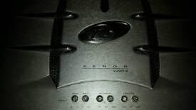 pheonix gold xenon 2 channel 400 watt amplifoer