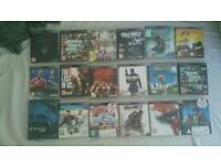 Playstation 3 250Gb two pads and 18 games