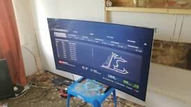 65 inch Samsung smart 4k curved tv