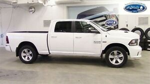 2014 Dodge Ram 1500 Sport Quad Cab (New Tires, Accident Free)