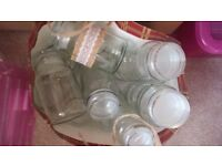 Free Jars. Ideal to Decorate for Rustic Wedding