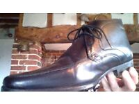 Next- Black Leather Boot/Shoe - size 9 (43)