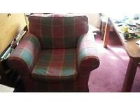 Large club easy chair