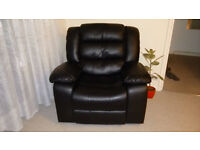 Whitfield Leather Reclining Armchair