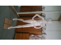 walking pose mannequin female full sz