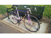 Bob Jackson 1980s vintage road bike reynolds tubing tange