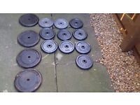 Free Weights over 100 kilo metal