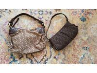 2 DKNY small shoulder bags