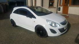 Vauxhall corsa 1.2 limited edition 2012