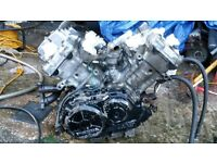 HONDA VFR 750 RC36 ENGINE FOR SPARE REPAIR CAN POST