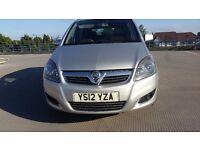 2012 Vauxhall Zafira 1.7 td ECOFLEX £3895 BARGAIN