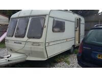 1990s buccaneer 16 feet,dry and towable ideal for storage