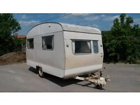 1966 vintage Sprite Alpine retro caravan - lightweight - ideal for towing with classic car