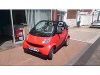 Smart Convertible for the summer. Very Smart Low Mileage!