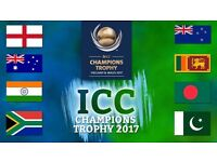 India vs South Africa - ICC Champions Trophy 2017 - 4xGOLD tickets