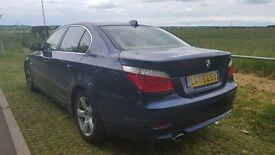 @@@beautifull bmw 5 series with mot + cream leather seats