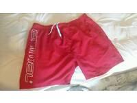 Mens animal swim shorts size XXL