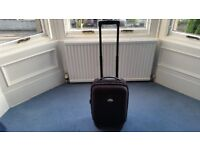 Black Cabin Size Suitcase, Wheels are abit Worn, Inside is great condition, Contact me asap, Cheap£7