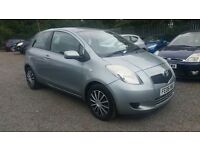 Toyota Yaris 1.3 VVT-i T3 3dr, HPI CLEAR, LONG MOT, IDEAL FOR NEW DRIVERS , P/X WELCOME