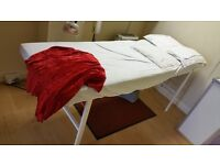 ACCUPUNCTURE AND MASSAGE BEDS