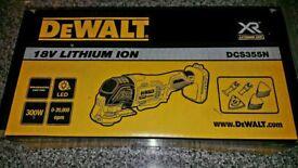 DEWALT multi tool (Brand new boxed -bare model)
