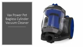 Vax Power Bagless Cylinder Vacuum Cleaner