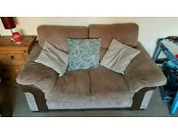 2 seater and 3 seater sofas