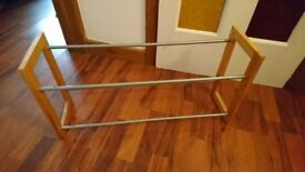 Two Shelf Shoe Rack - 71x36x20cm - Great Condition