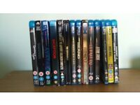 Collection of Blu Ray DVD's